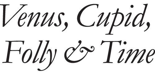 Venus, Cupid, Folly & Time Logo